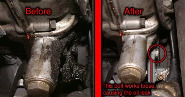Oil Leak Repair >> Quick Fix For M30 Engine Oil Leak Evansweb Info